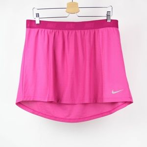 Nike Skirt Golf Athletic Dri Fit Size XL Pink